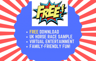 virtual race night downloads free horse race UK family entertainment