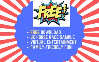 virtual race night downloads free horse race UK family entertainment
