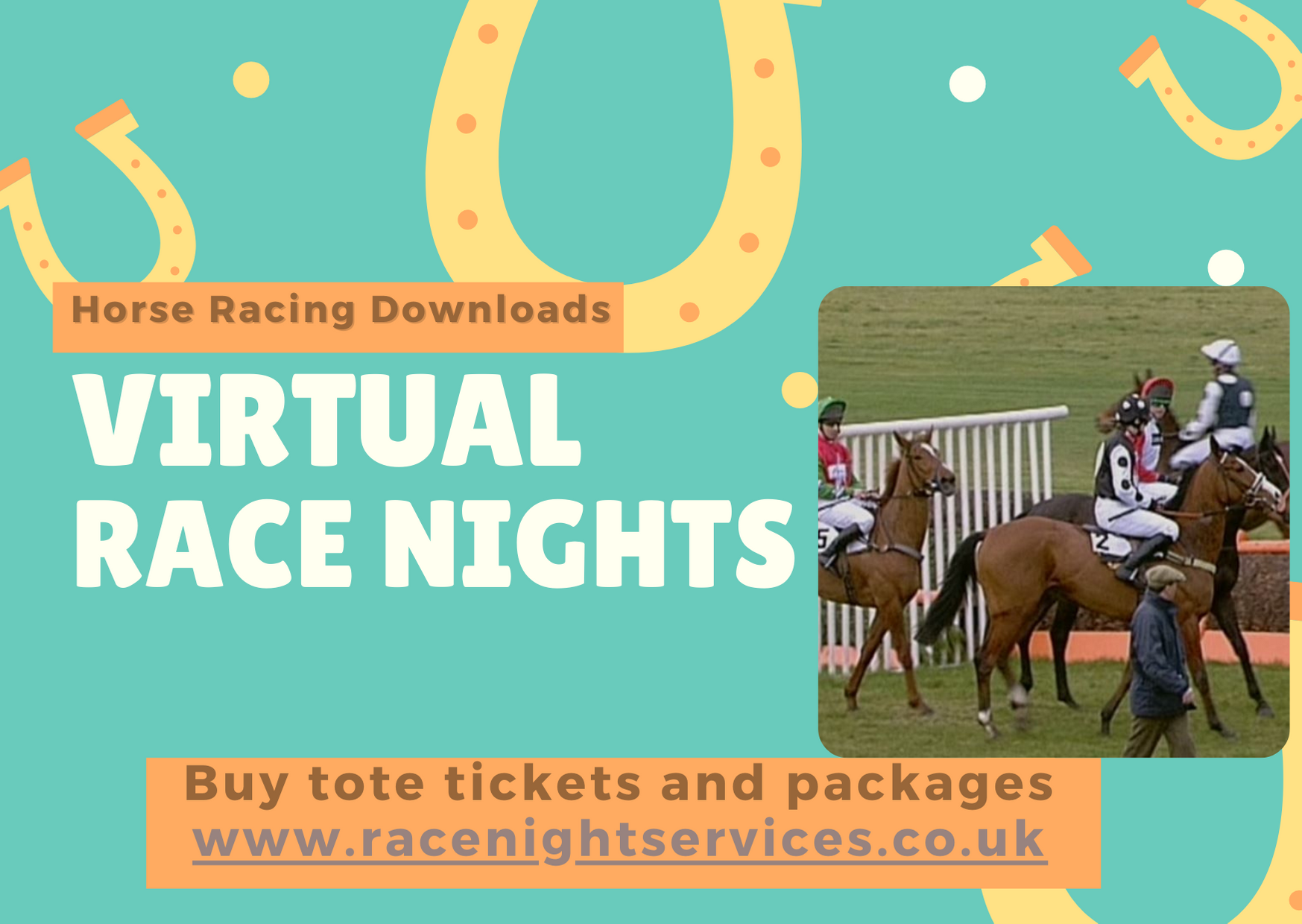 Virtual Race Night Zoom Fundraising Charity Sporting Clubs Sports Teams Horse Racing Downloads UK 2021