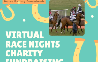 Charity Fundraising Tips Ideas 2021 Virtual Race Night Zoom Fundraising Charity Sporting Clubs Sports Teams Horse Racing Downloads UK 2021