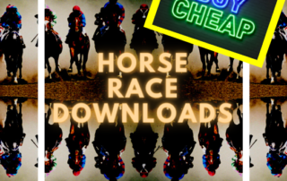 Cheap Race Night Downloads UK Horse Racing Fundraising Packages Zoom virtual race night downloads free horse race UK family entertainment